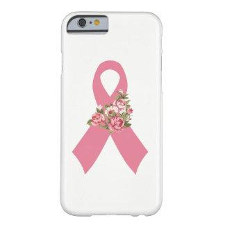 Het roze Lint Daisy van de Voorlichting van Kanker Barely There iPhone 6 Hoesje