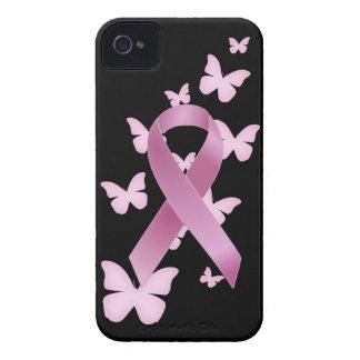Het roze Lint van de Voorlichting iPhone 4 Hoesje