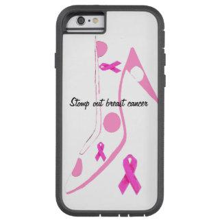 Het Roze Lint van Kanker van de borst Tough Xtreme iPhone 6 Hoesje