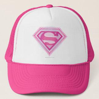 Het Roze Logo van Supergirl Trucker Pet