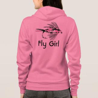 Het roze Lokmiddel van de Visserij van de Vlieg Hoodie