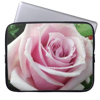 Het roze nam BloemenLaptop van het Neopreen Sleeve