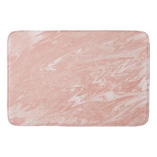 Het roze nam bloost de Marmeren Steen van het Badmat