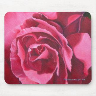 Het roze nam de BloemenMat van de Muis toe Muismat