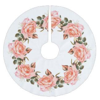 Het roze nam de Rok van de Boom van de Kroon toe Kerstboom Rok
