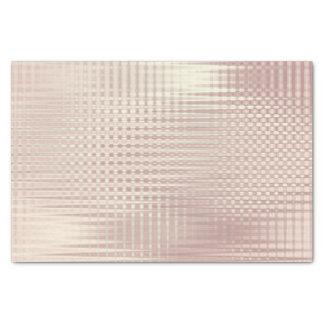 Het roze nam Gouden Metaal bloost de Grill Lux van Tissuepapier
