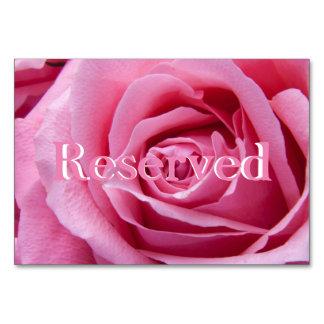"""Het roze nam Horizontale Gereserveerde 3.5"""" x 5"""" Kaart"""