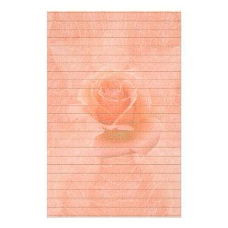 Het roze nam met Lijnen toe Briefpapier
