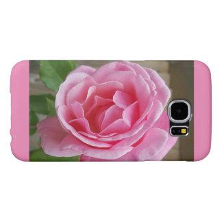 Het roze nam mobiel telefoonhoesje voor Samsung en Samsung Galaxy S6 Hoesje