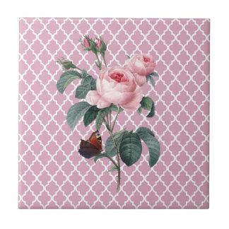 Het roze nam Oosten toe Keramisch Tegeltje