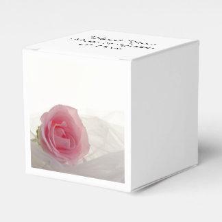 Het roze nam op Wit Huwelijk toe Bedankjes Doosjes