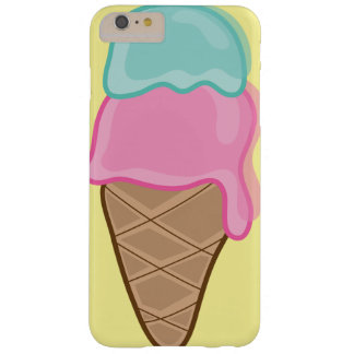 Het roze Omhulsel van het Roomijs van de Zomer van Barely There iPhone 6 Plus Hoesje