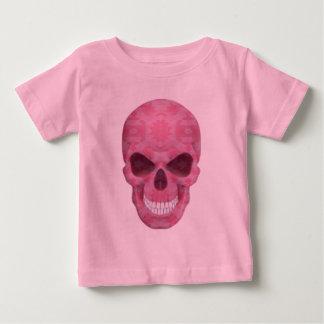 Het roze Overhemd van de Schedel van de Camouflage Baby T Shirts