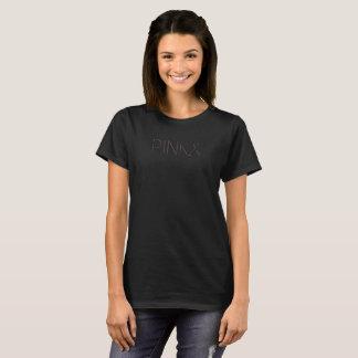 Het roze Overhemd van de Voorlichting van Kanker T Shirt