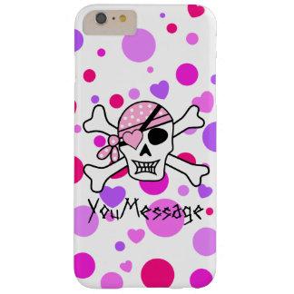 Het roze Paarse Hoesje van de Piraat iPhone6 van