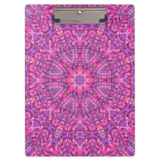 Het roze Paarse Klembord van n