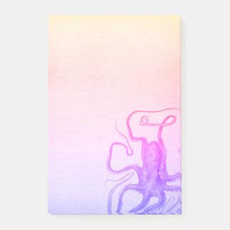 Het roze Paarse Zee van Ombre Steampunk van de Post-it® Notes