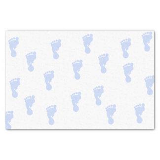 Het roze Papieren zakdoekje van de Voetafdrukken Tissuepapier