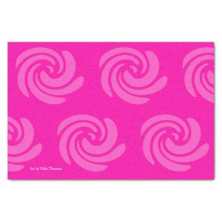 Het roze Papieren zakdoekje van de Werveling Tissuepapier