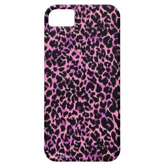 Het roze Patroon van de Jachtluipaard Barely There iPhone 5 Hoesje