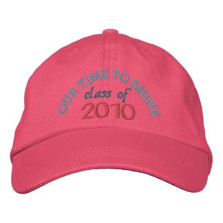"""Het Roze Pet van de Meisjes van de Afstuderen """" 20 Baseball Cap"""