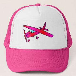 Het roze pet van het het vliegtuigpet van het