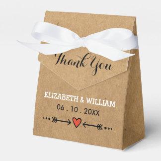 Het roze Rustieke Huwelijk van Liefjes & van Bedankdoosjes