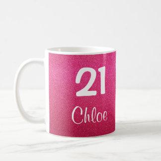 Het roze schittert de 21ste (Klantgerichte) Mok