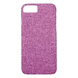 Het roze schittert iPhone 8/7 hoesje