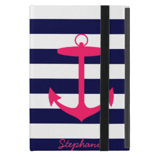 Het roze Silhouet van het Anker iPad Mini Hoesje