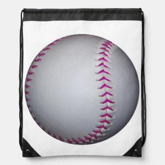 Het roze Softball van Steken Rugzakje