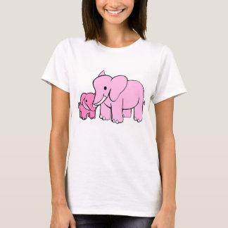 (Het roze) T-shirt van de olifant