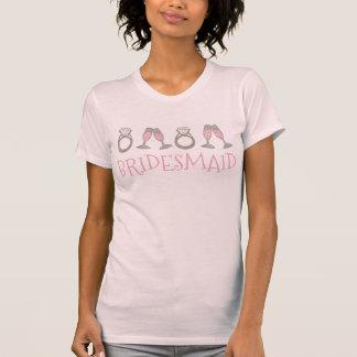 Het roze T-shirt van de Partij van het Huwelijk