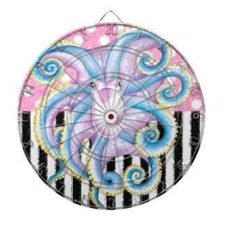 Het Roze van de Octopus van Artsy Dartbord