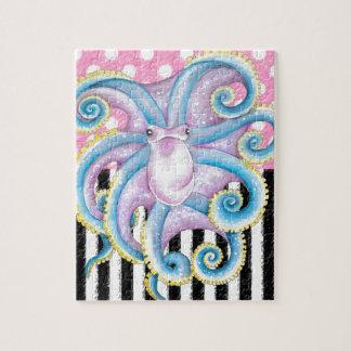 Het Roze van de Octopus van Artsy Puzzel