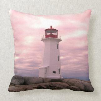 """Het roze van de Vuurtoren van Nova Scotia """""""" van Kussen"""
