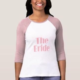 Het Roze van het Baby van Swag van de bruid T Shirt