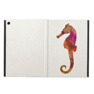 Het Roze van het Zeepaardje van het Silhouet van iPad Air Hoesje
