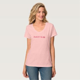 Het roze van vrouwen schrobt het Leven <3 T Shirt