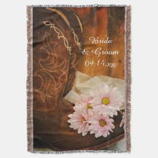 Het roze Westerne Huwelijk van het Land van de Deken