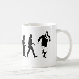 Het Rugby van de evolutie Koffiemok