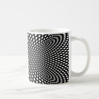 Het Ruimte Geometrische ontwerp van de optische Koffiemok