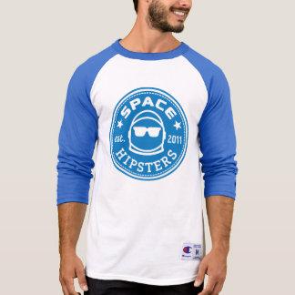 Het ruimte Logo van het Mannen Hipsters® 3/4 T Shirt