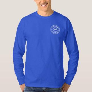 Het ruimte Overhemd van het Logo van het Sleeve T Shirt