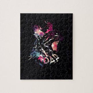 Het ruimte Portret van de Kat Puzzels