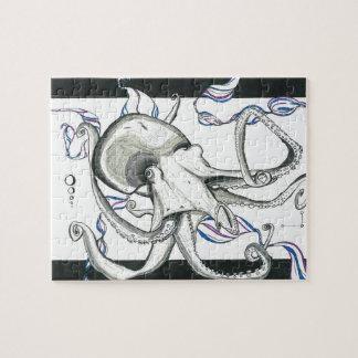 Het ruimte Raadsel van de Octopus Puzzel