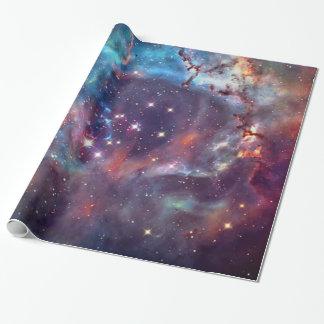 Het ruimtebeeld van de Nevel van de melkweg Inpakpapier
