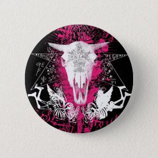 Het Rundvlees van het voodoo Ronde Button 5,7 Cm