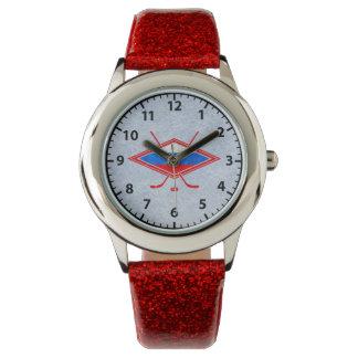 Het Russische Horloge van het Logo van het