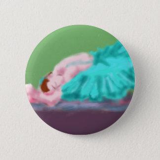 Het Rustende Art. van het ballet Ronde Button 5,7 Cm